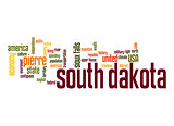 South Dakota word cloud