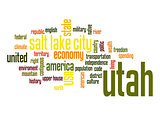 Utah word cloud