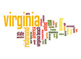 Virginia word cloud
