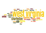 West Virginia word cloud