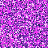 Violet triangle background