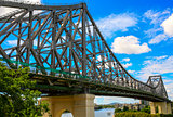 Story Bridge across Brisbane River, Australia.