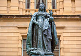 Queen Victoria Statue, Brisbane, Australia.