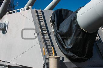 Battleship Gun Turret, U.S.S Missouri