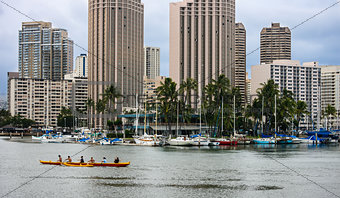 Canoeing Through Hawaii