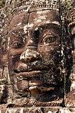 Stone face, Prasat Bayon, Cambodia