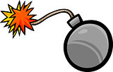 bomb clip art cartoon illustration