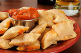 Pizza pockets and beer