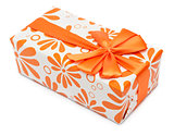 Orange present box