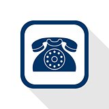 contact flat icon