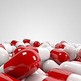 Pills pile