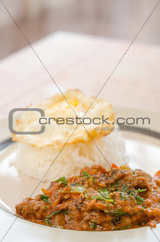 asian spicy dish
