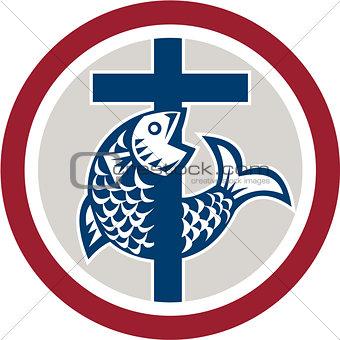 Fish on Cross Circle