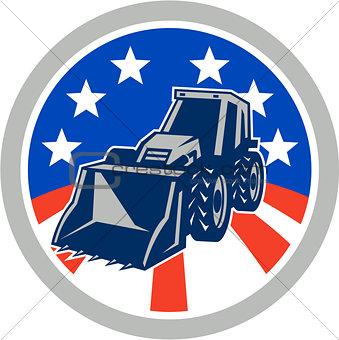 American Mechanical Digger Excavator Circle