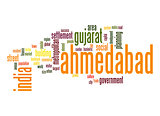 Ahmedabad word cloud