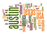 Austin word cloud
