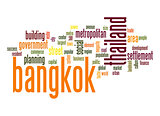 Bangkok word cloud
