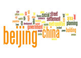 Beijing word cloud