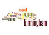 Birmingham word cloud