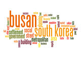 Busan word cloud