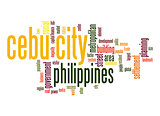 Cebu City word cloud