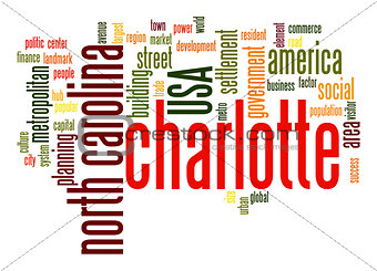 Charlotte word cloud