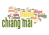 Chiang Mai word cloud