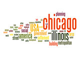 Chicago word cloud