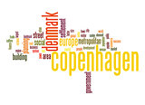 Copenhagen word cloud