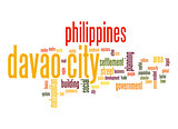 Davao City word cloud