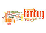 Hamburg word cloud
