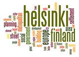 Helsinki word cloud