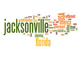 Jacksonville word cloud
