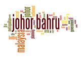 Johor Bahru word cloud