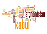 Kabul word cloud