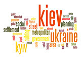 Kiev word cloud