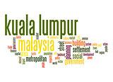 Kuala Lumpur word cloud