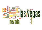 Las Vegas word cloud