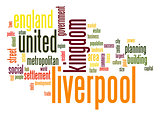 Liverpool word cloud