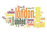 London word cloud