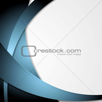 Modern vector abstract design