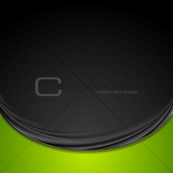 Bright smooth waves vector background