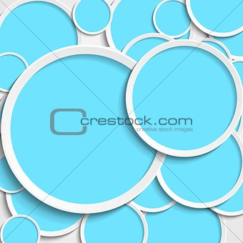 Bright abstract tech vector