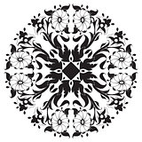 black and white ottoman serial patterns twenty-four