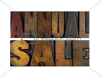 Annual Sale