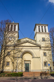 Church in the center of Rees Am Niederrhein