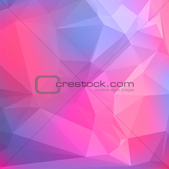 Abstract geometric background with polygons. Vector illustration.