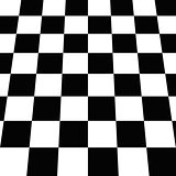 Seamless Black and White Checkered Board