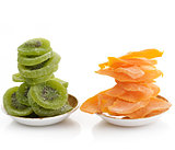 Dried Kiwi And Mango Fruits