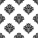 Decorative seamless pattern background